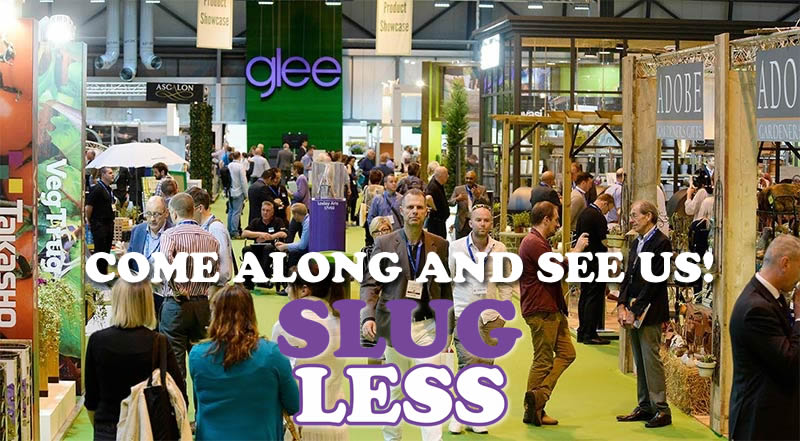 We will be exhibiting our new SlugLess mulch and easyMulch at Glee 2017. We will be at stand 20U23 and 20U23a so come along and say hello!