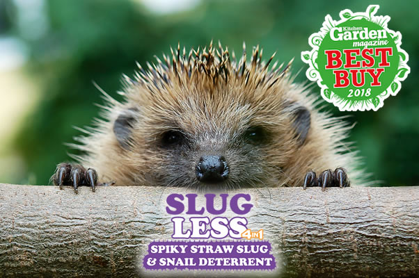 SlugLess gets 'Best Buy' in 'Kitchen Garden' Tests; April 2018!