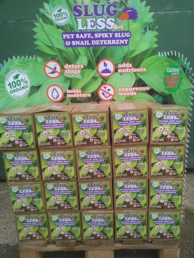 SlugLess now on sale at Waitrose Gardening